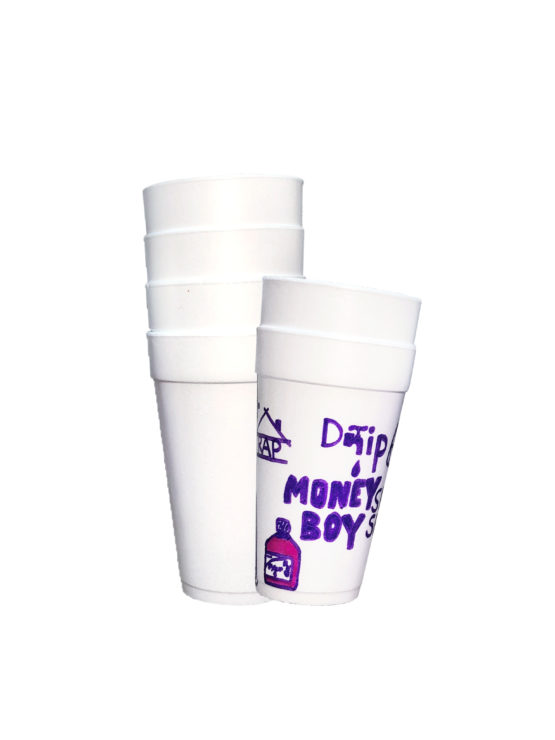 CUSTOM MADE DOUBLE CUP